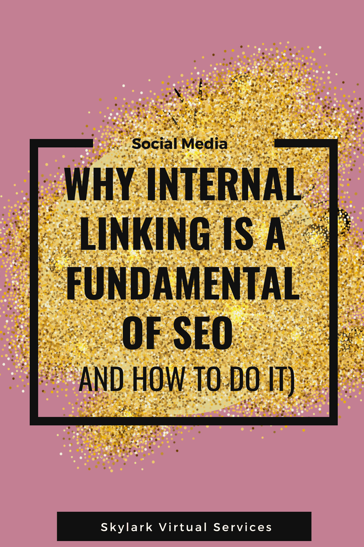why internal linking is a fundamental graphic