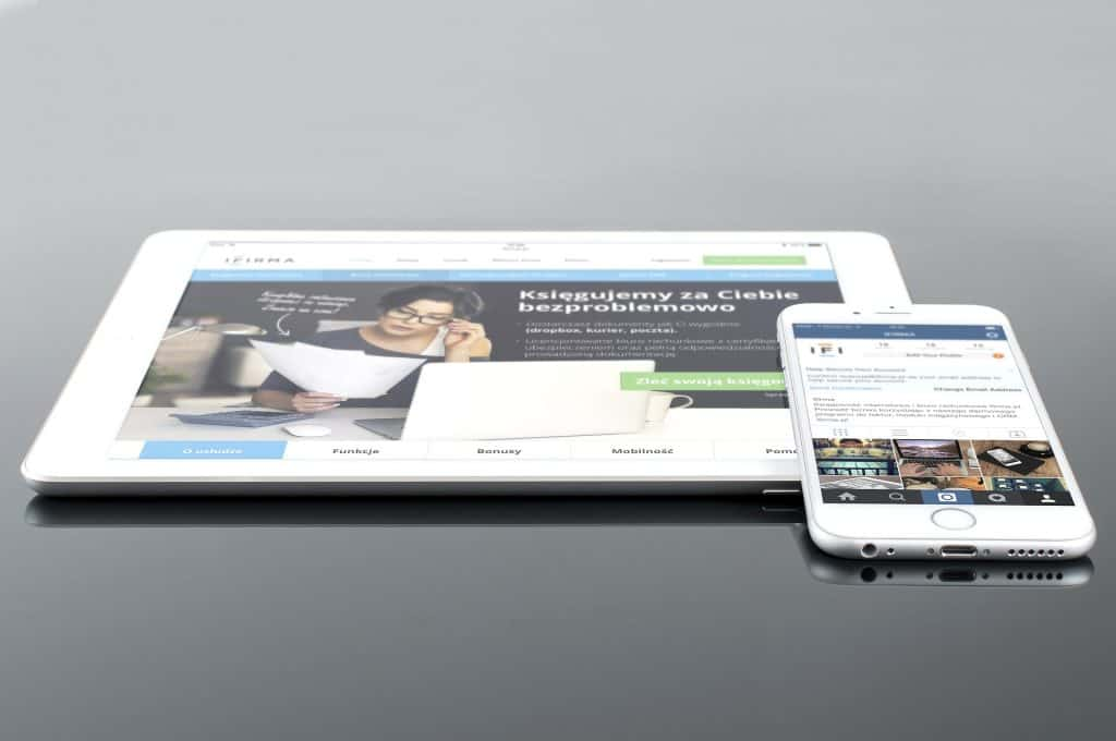 mobile friendly - mobile phone and tablet