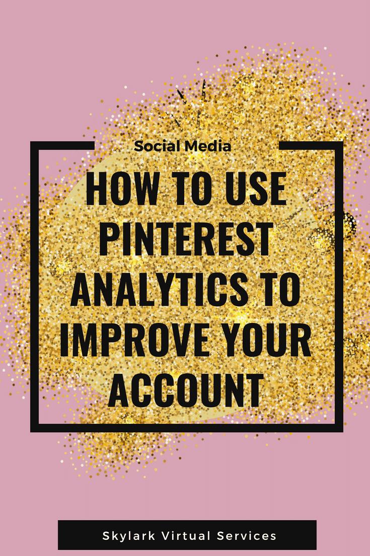 Pinterest analytics - Pinterest graphic