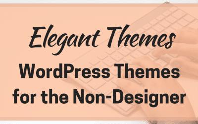 Elegant Themes – WordPress Themes for the Non-Designer