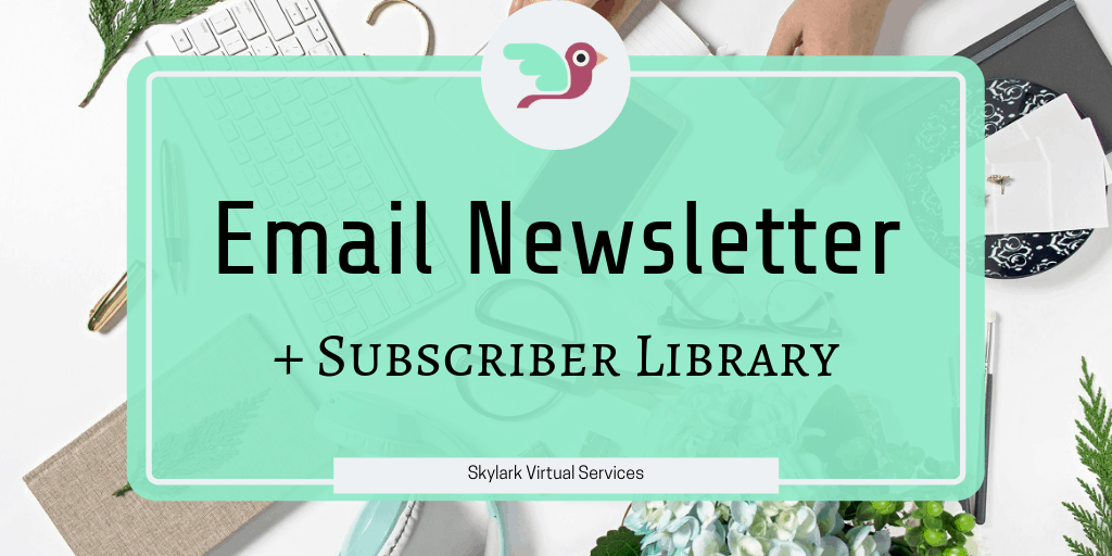 Email Newsletter & Subscriber Library
