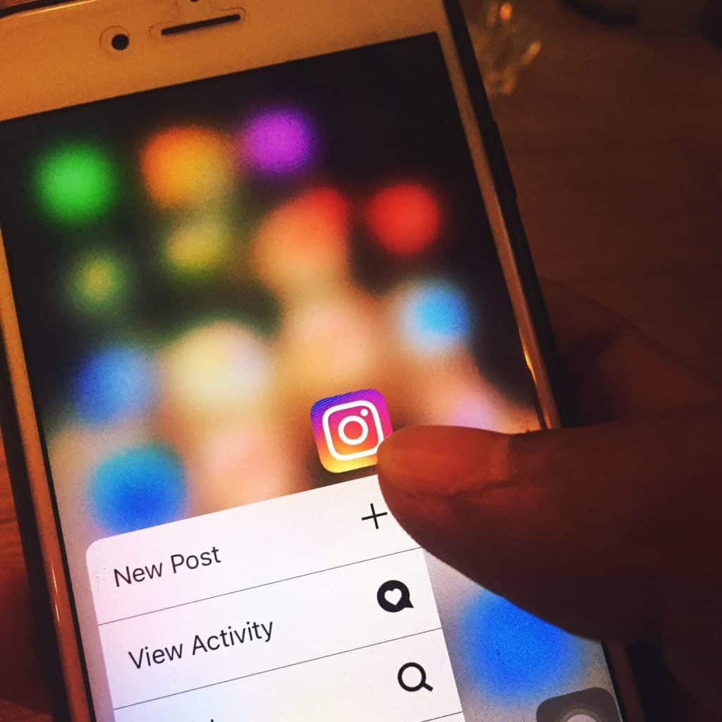 instagram strategy for business - types of post