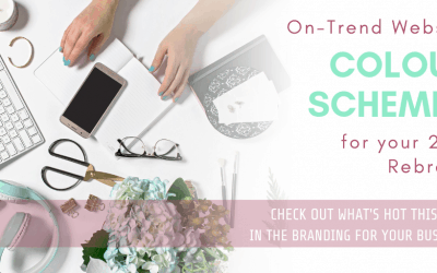 On-Trend Website Colour Schemes for your 2019 Rebrand