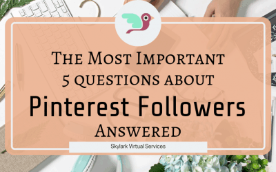 The Most Important 5 Questions About Pinterest Followers Answered